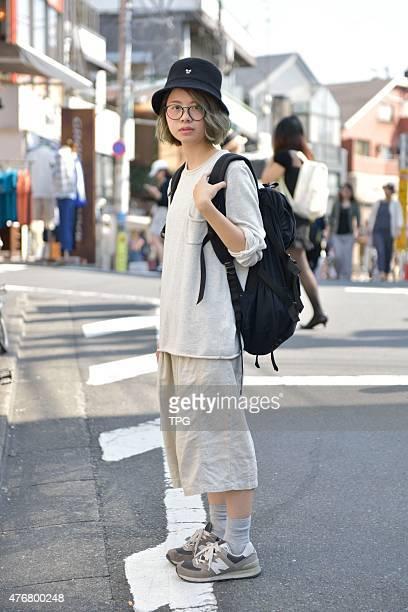 Tokyo Street Fashion at Harajuku on 15th May 2015 in Tokyo Japan