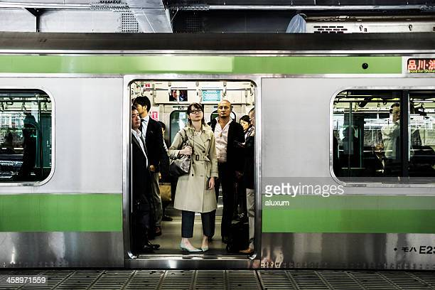 日本東京の地下鉄システム