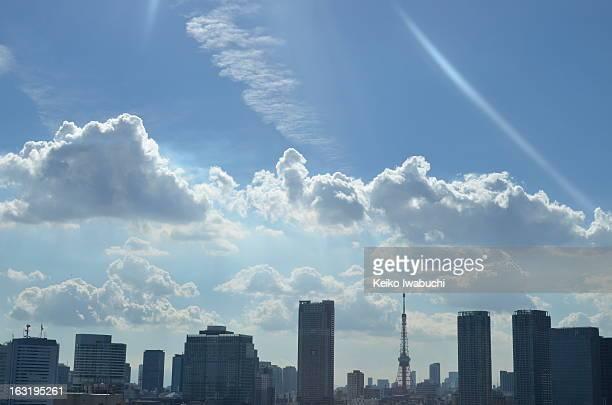Tokyo Tower in Summer