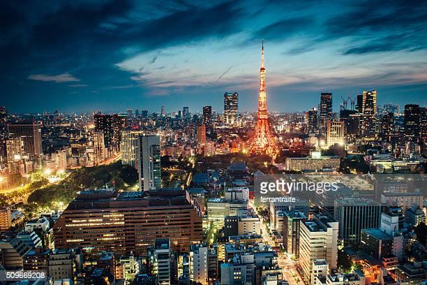 Tour de Tokyo, Japon