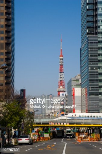 Tokyo Tower Minato Ward Tokyo Japan Stock Photo  Getty Images