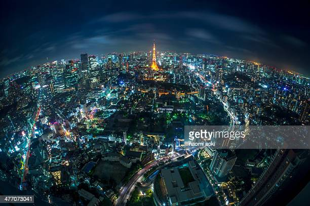 Tokyo tower on Earth