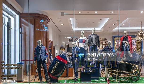HILFIGER Tokyo Windows Display 2015 as Part of the World Fashion Window Displays on August 31st 2015 in Tokyo Japan