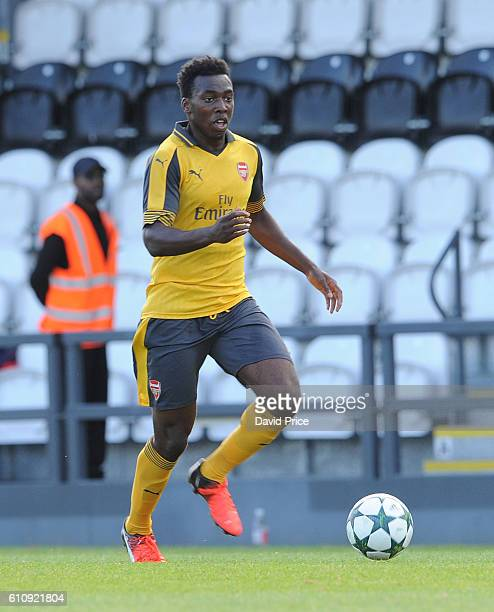 Tolaji Bola of Arsenal during the UEFA Champions League match between Arsenal FC and FC Basel 1893 at Meadow Park on September 28 2016 in Borehamwood...