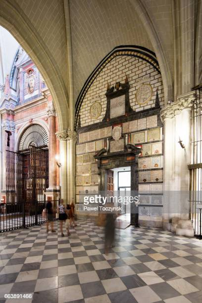 Toledo Cathedral transept, Spain