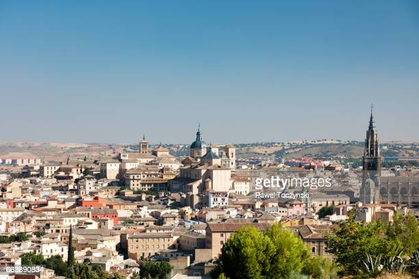 Toledo medieval Old Town with its Gothic Cathedral, Spain