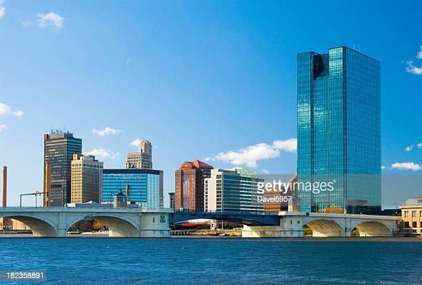 Toledo, OH skyline and bridge