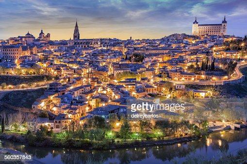Toledo with Alcazar