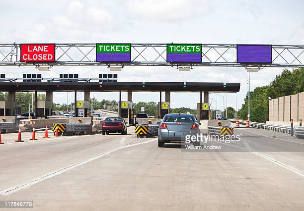 Toll booth on highway