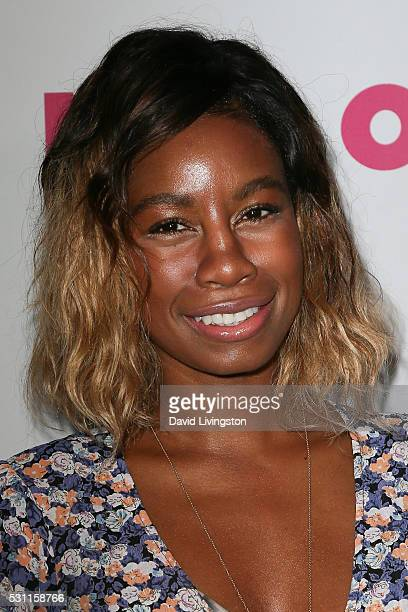 Tolula Adeyemi arrives at NYLON and BCBGeneration's Annual Young Hollywood May Issue Event at HYDE Sunset Kitchen Cocktails on May 12 2016 in West...