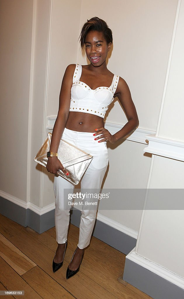 Tolula Adeyemi attends the Esquire Summer Party in association with Stella Artois at Somerset House on May 29, 2013 in London, England.