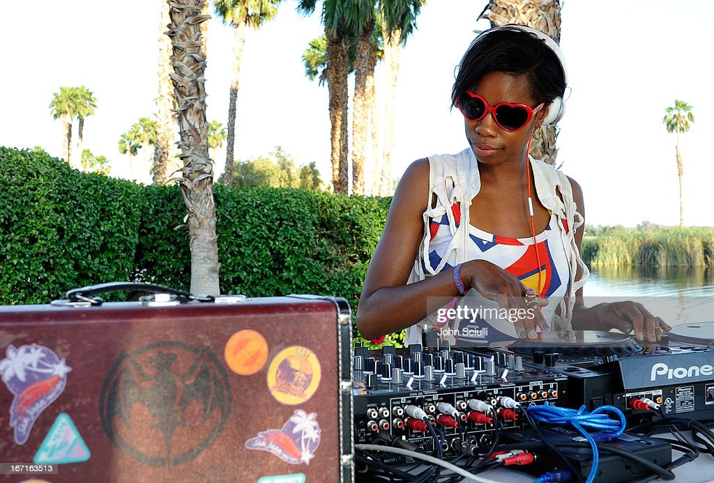 <a gi-track='captionPersonalityLinkClicked' href=/galleries/search?phrase=Tolula+Adeyemi&family=editorial&specificpeople=5042423 ng-click='$event.stopPropagation()'>Tolula Adeyemi</a> attends the Soho House Pop Up with Bacardi hosted by RADD during Coachella 2013 at Merv Griffin Estate on April 21, 2013 in La Quinta, California.
