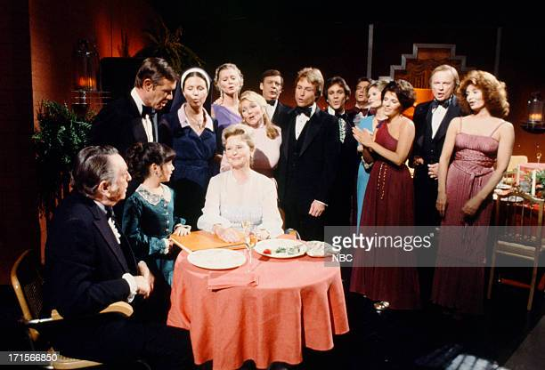 LIVES 'Tom Alice Horton 50th Wedding Anniversary' Pictured Macdonald Carey as Tom Horton Natasha Ryan as Hope Williams John Lupton as Tom Horton Jr...