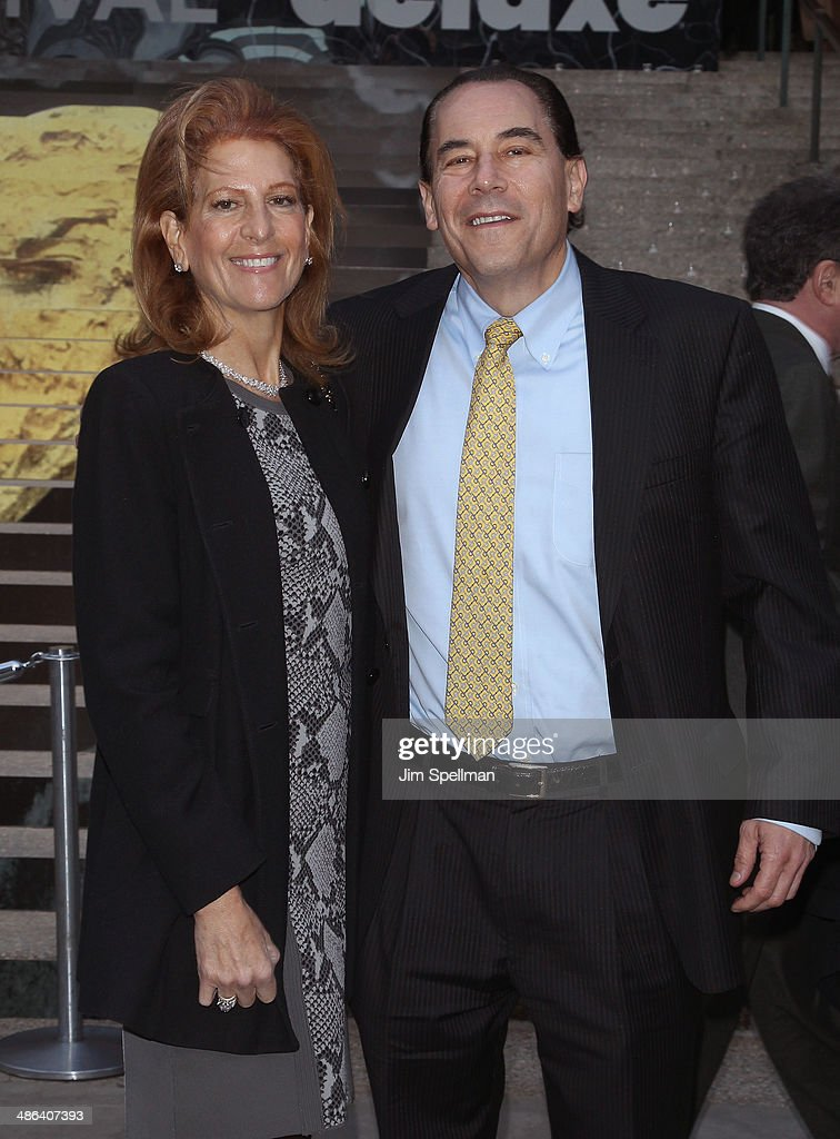 Tom and Sylvia Rogers attends the Vanity Fair Party during the 2014 Tribeca Film Festival at The State Supreme Courthouse on April 23, 2014 in New York City.