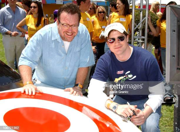 Tom Arnold and Brendan Fraser at the 2004 Target A Time for Heroes Celebrity Carnival to benefit the Elizabeth Glaser Pediatric AIDS Foundation