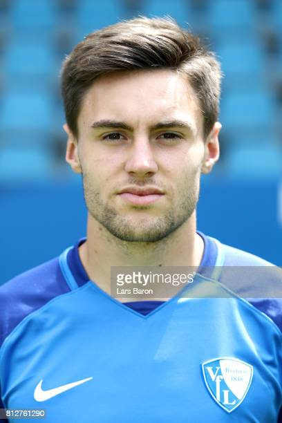 Tom Baack of VfL Bochum poses during the team presentation at Vonovia Ruhrstadion on July 11 2017 in Bochum Germany
