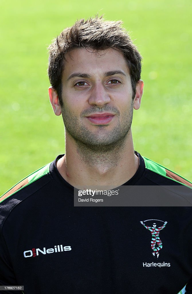 Tom Bachelor, strength and conditioning intern of Harlequins poses for a portrait at the Surrey Sports Park on August 19, 2013 in Guildford, England.