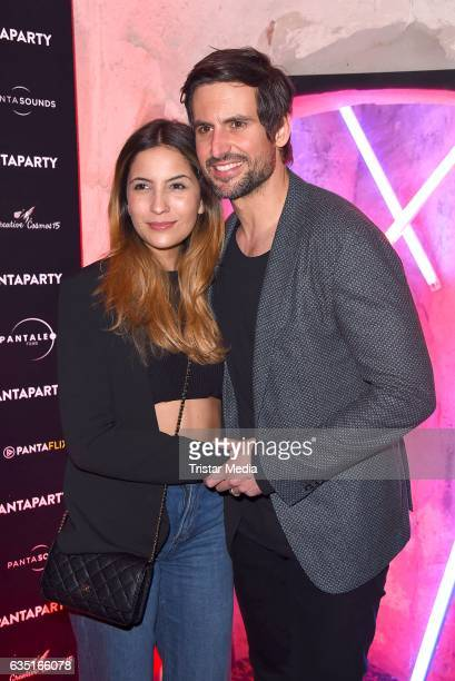 Tom Beck and Chryssanthi Kavazi attend the Pantaflix Party At The 67th Berlinale International Film Festival on February 13 2017 in Berlin Germany