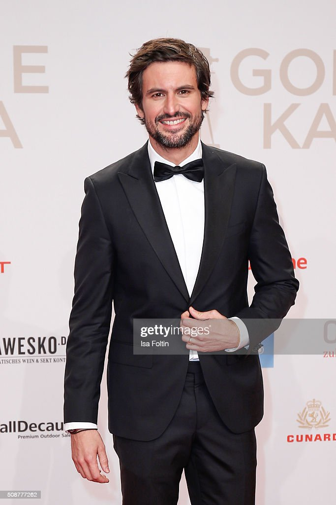 Tom Beck attends the Goldene Kamera 2016 on February 6, 2016 in Hamburg, Germany.