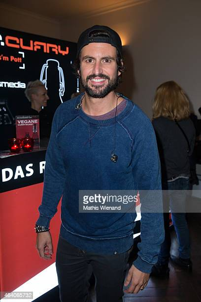 Tom Beck attends the Tom Beck Record Release Party at 'die maske' on February 21 2015 in Cologne Germany