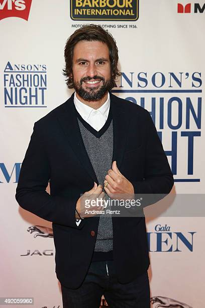 Tom Beck dressed by ANSON'S attends ANSON'S Fashion Night on October 9 2015 in Hamburg Germany