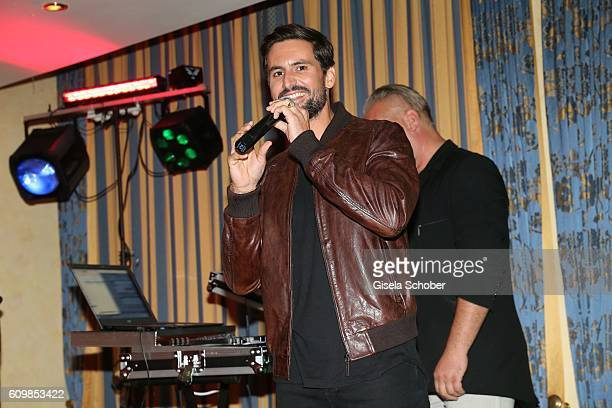 Tom Beck during the surprise party for Erdogan Atalay's 50th birthday at Hotel Arkona on September 22 2016 in Binz Germany