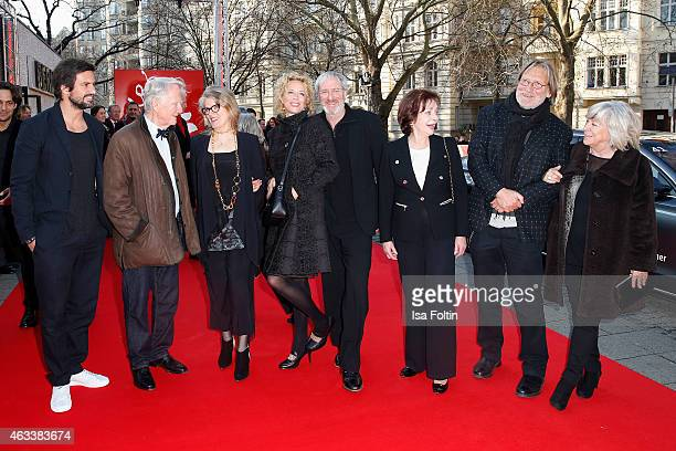 Tom Beck Gunnar Moeller Barbara Sukowa Katja Riemann August Zirner Karin Dor Matthias Habich and Margarethe von Trotta attend the ''The Misplaced...