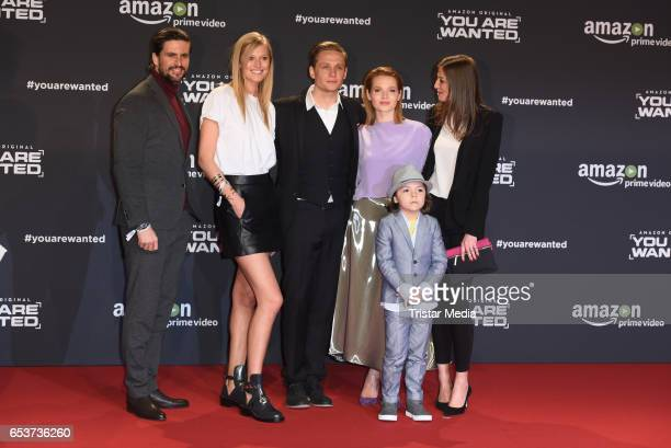 Tom Beck Toni Garrn Karoline Herfurth Matthias Schweighoefer Franz Hagn and Alexandra Maria Lara attend the premiere of the Amazon series 'You are...