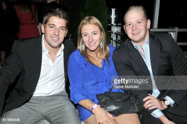 Tom Bennewitz Jen Ross and Dan Siegfried attend ASSOCIATION to BENEFIT CHILDREN Junior Committee Fundraiser at Gansevoort Hotel on September 14 2010...