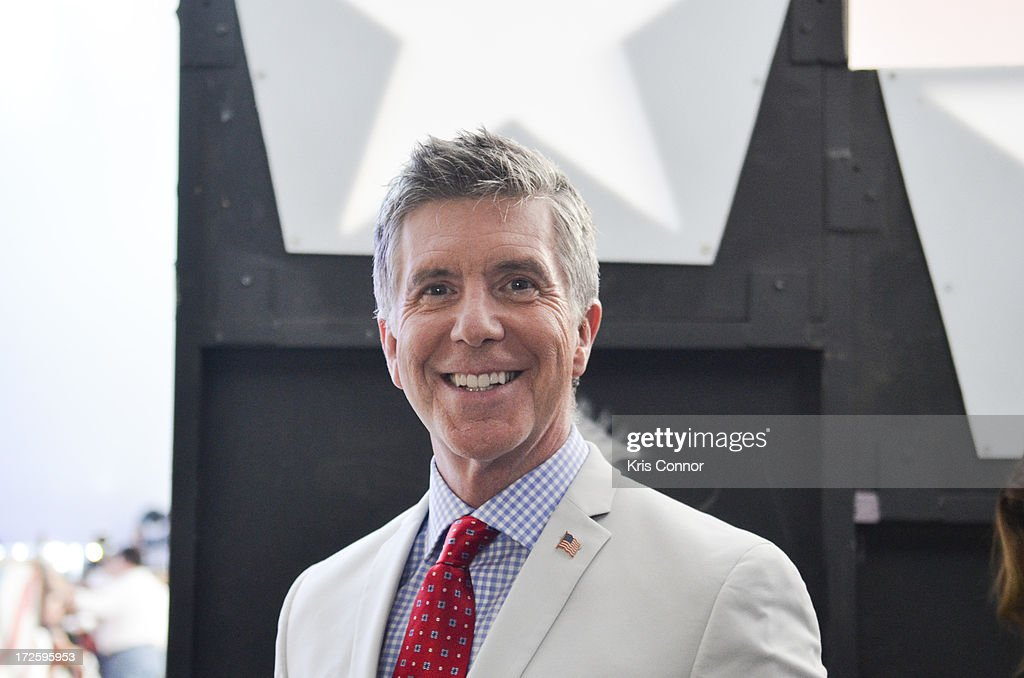 <a gi-track='captionPersonalityLinkClicked' href=/galleries/search?phrase=Tom+Bergeron&family=editorial&specificpeople=663624 ng-click='$event.stopPropagation()'>Tom Bergeron</a> poses for a photo backstage during a rehearsal for the 'A Capitol Fourth 2013 Independence Day Concert' on the West Lawn of the US Capitol on July 3, 2013 in Washington, DC.