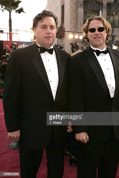 Tom Bernard and guest during The 77th Annual Academy Awards Executive Arrivals at Kodak Theatre in Hollywood California United States