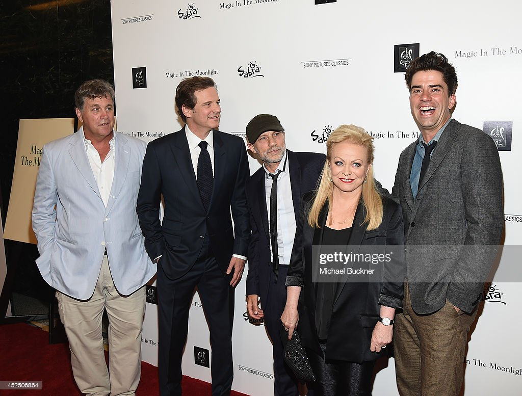 Tom Bernard CoPresident and CoFounder of Sony Pictures Classics actor Colin Firth actor Simon McBurney actress Jacki Weaver and actor Hamish...