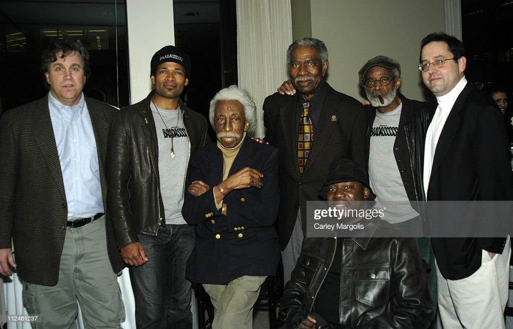 Tom Bernard Mario Van Peebles writer and director Gordon Parks Ossie Davis Daryl Mitchell Melvin Van Peebles writer and Michael Barker