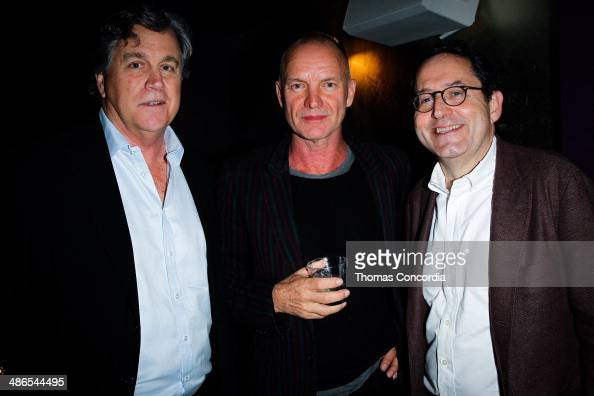 Tom Bernard Sting and Michael Barker attend the 'Third Person' Film PrePremiere Party At Supper Suite By STK Hosted With Fiji Water And Dobel Tequila...