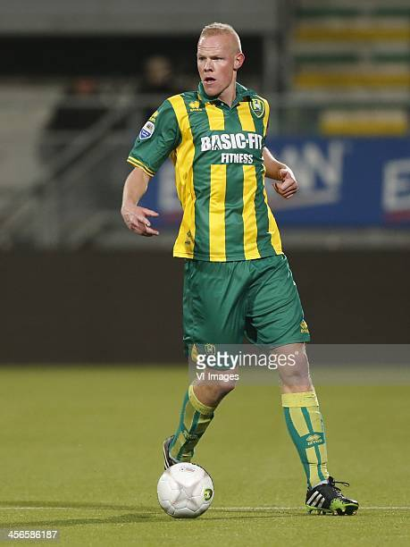 Tom Beugelsdijk of ADO Den Haag during the Dutch Eredivisie match between ADO Den Haag and RKC Waalwijk on December 14 2013 at the Kyocera stadium in...