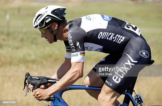 Tom Boonen of Belgium riding for the Omega PharmaQuickstep Cycling Team during stage one of the 2014 Amgen Tour of California on May 11 2014 in...