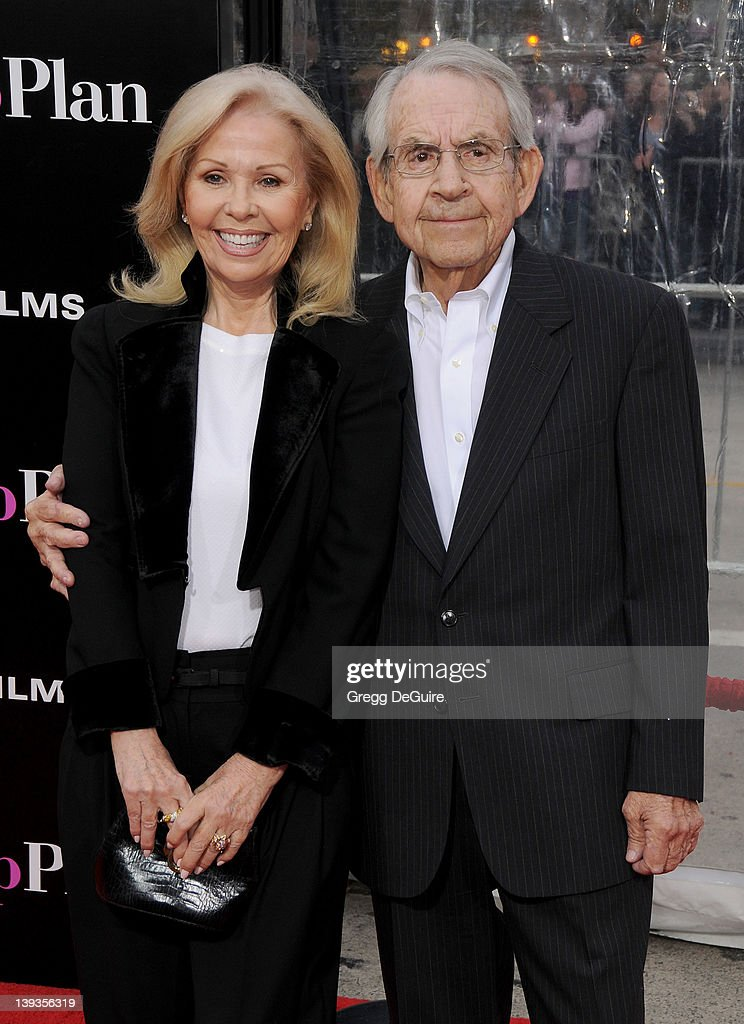 Tom Bosley and Patricia Bosley arrive at the CBS Films' Premiere of 'The Backup Plan' at the Regency Village Theater on April 21 2010 in Westwood...