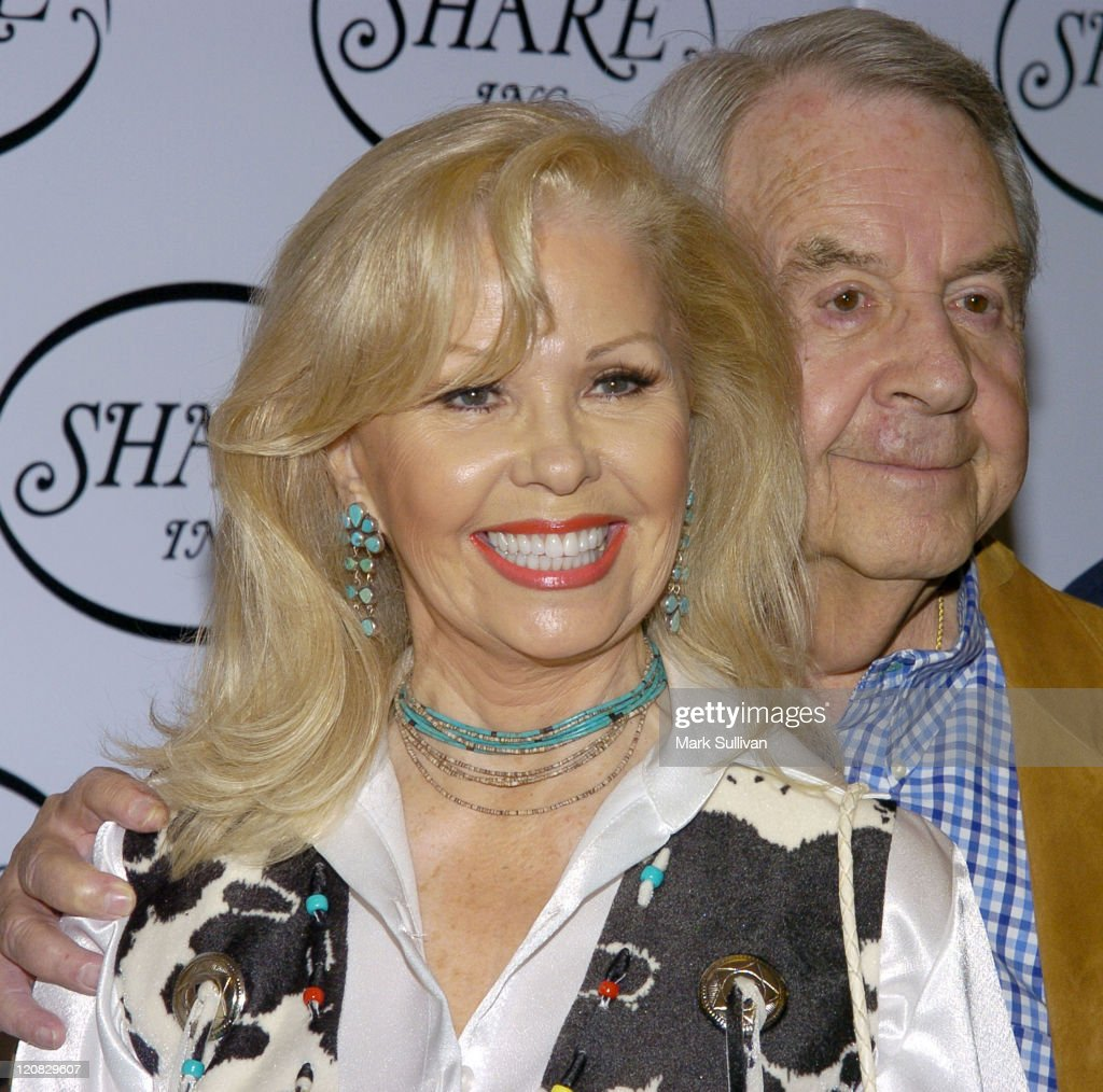 Tom Bosley and wife Patricia Carr during 51st Annual Boomtown Party at Century Plaza Hotel in Century City California United States