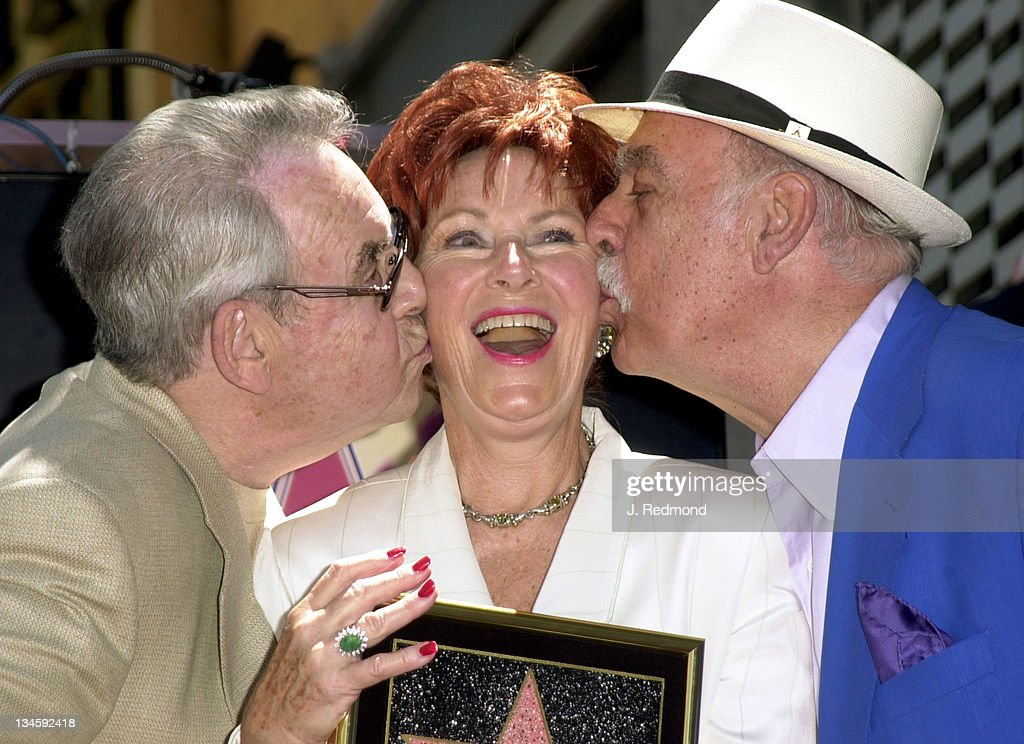 Tom Bosley Marion Ross Paul Michael during Marion Ross Honored with a Star on the Hollywood Walk of Fame at Hollywood Boulevard in Hollywood...