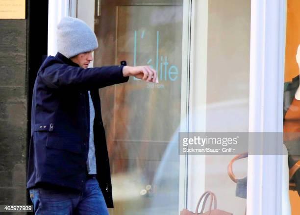 Tom Brady is seen on January 30 2014 in Boston Massachusetts