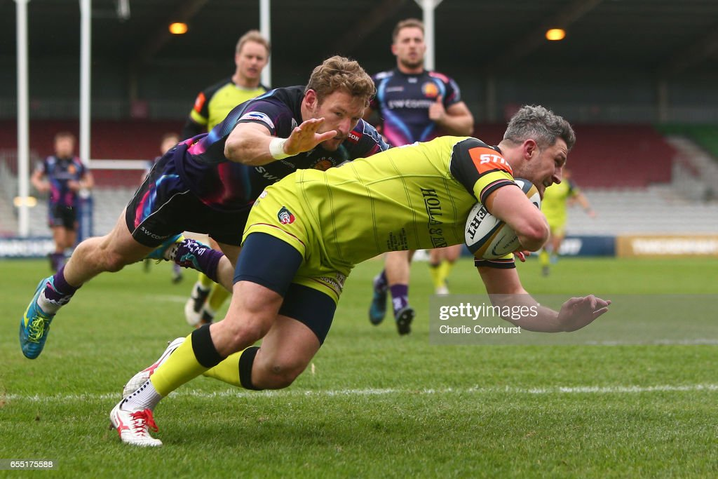 Exeter Chiefs v Leicester Tigers - Anglo-Welsh Cup Final