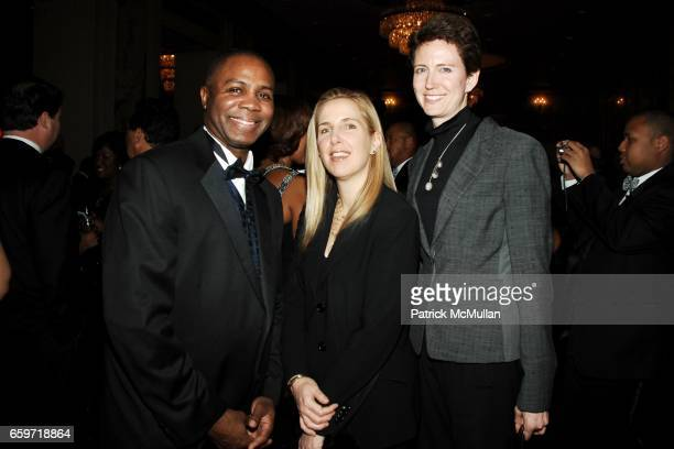 Tom Brasuell Jaclyn Parks and Elizabeth Scott attend JACKIE ROBINSON FOUNDATION 2009 Annual Awards Dinner at Waldorf on March 16 2009 in New York City