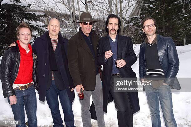 Tom Budge John Hillcoat Danny Huston Nick Cave and Guy Pearce