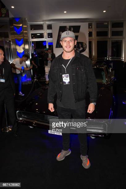 Tom Burgess arrives ahead of The Fate of the Furious Sydney Premiere on April 11 2017 in Sydney Australia