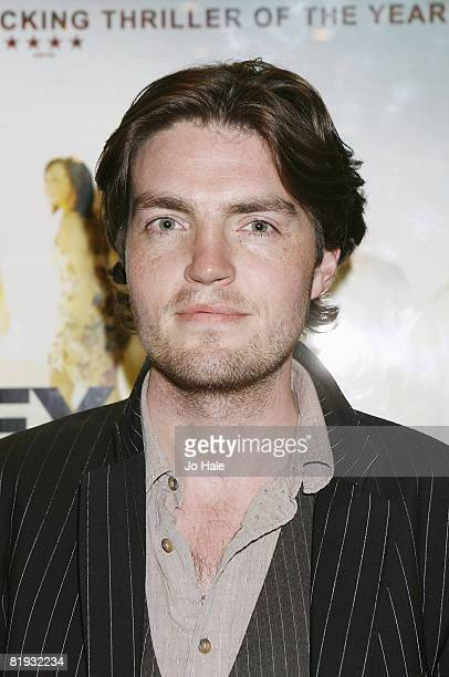 Tom Burke arrives at the Donkey Punch London Premiere at the Empire Leicester Square on July 142008 in London England