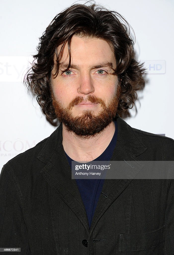 Tom Burke attends InStyle magazine's The Best of British Talent pre-BAFTA party at Dartmouth House on February 4, 2014 in London, England.