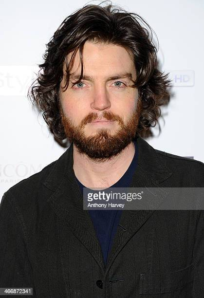 Tom Burke attends InStyle magazine's The Best of British Talent preBAFTA party at Dartmouth House on February 4 2014 in London England
