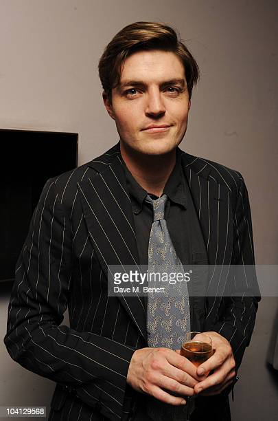 Tom Burke attends the afterparty following the press night of 'Design For Living' at Baltic on September 15 2010 in London England