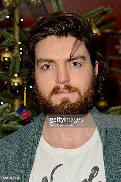 Tom Burke attends the August Osage County drinks screening at Soho Hotel on December 21 2013 in London England