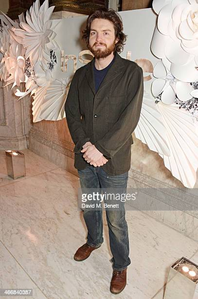 Tom Burke attends the InStyle Best of British Talent party in celebration of BAFTA in association with Lancome and Sky Living at Dartmouth House on...